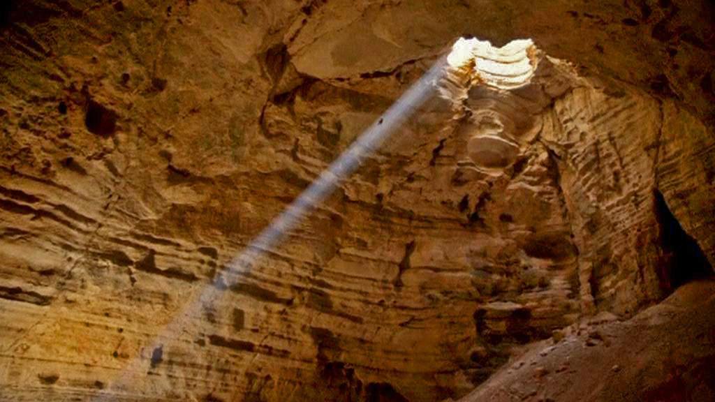 Ománská jeskyně Madžlis al Džinn