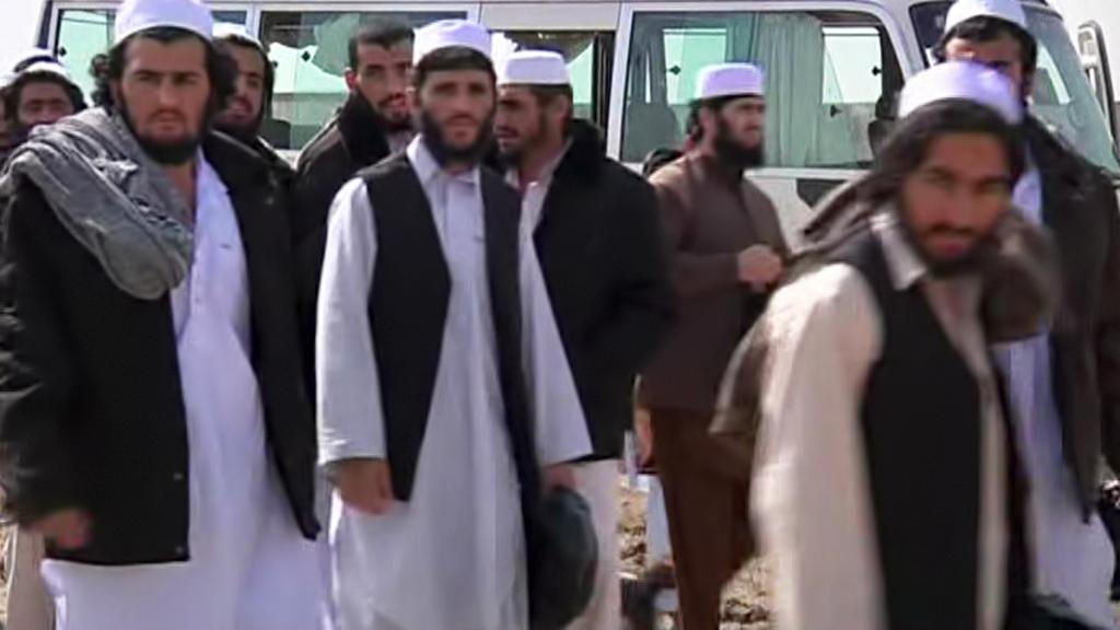 Propuštění afghánští vězni