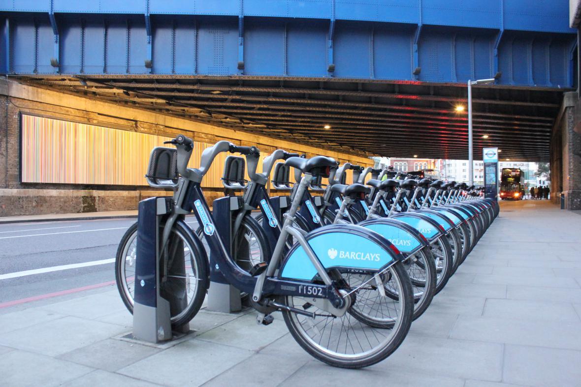 Citybiky v Londýně