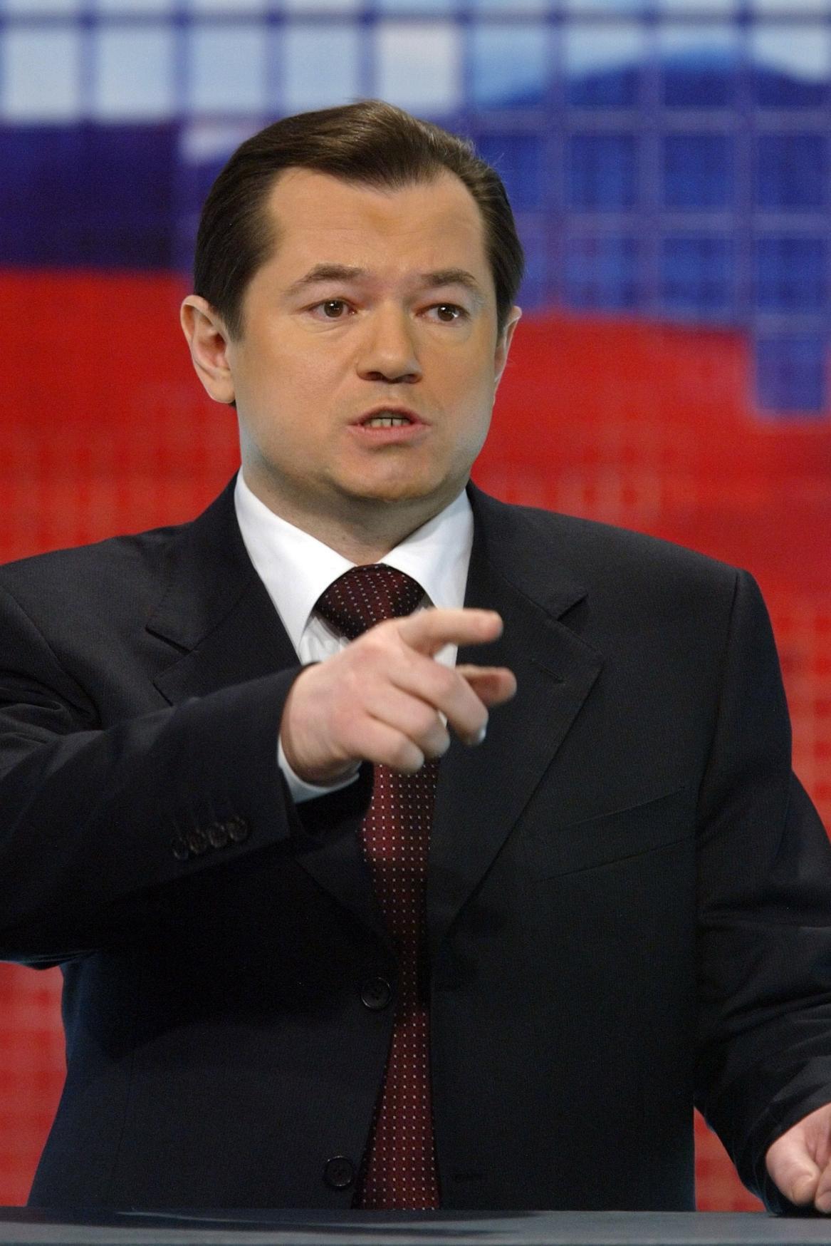 Putinův poradce Sergej Glazjev