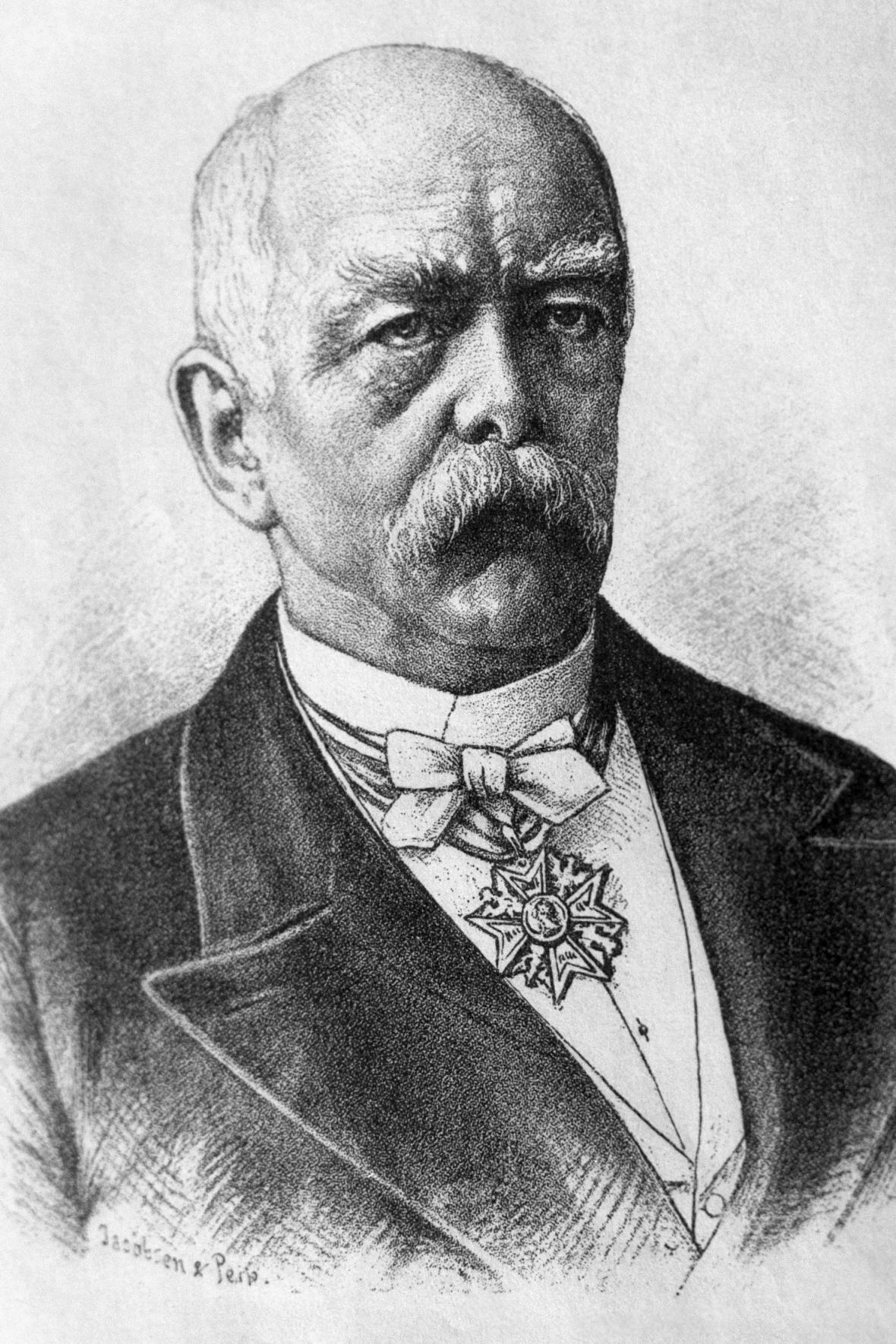 Německý kancléř Otto von Bismarck