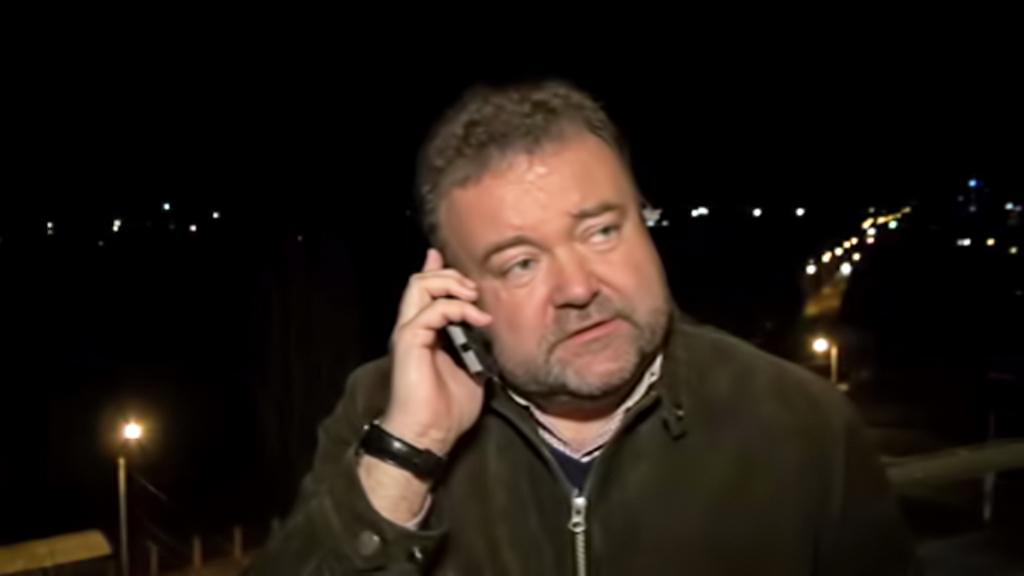 Zpravodaj ČT Miroslav Karas na Krymu