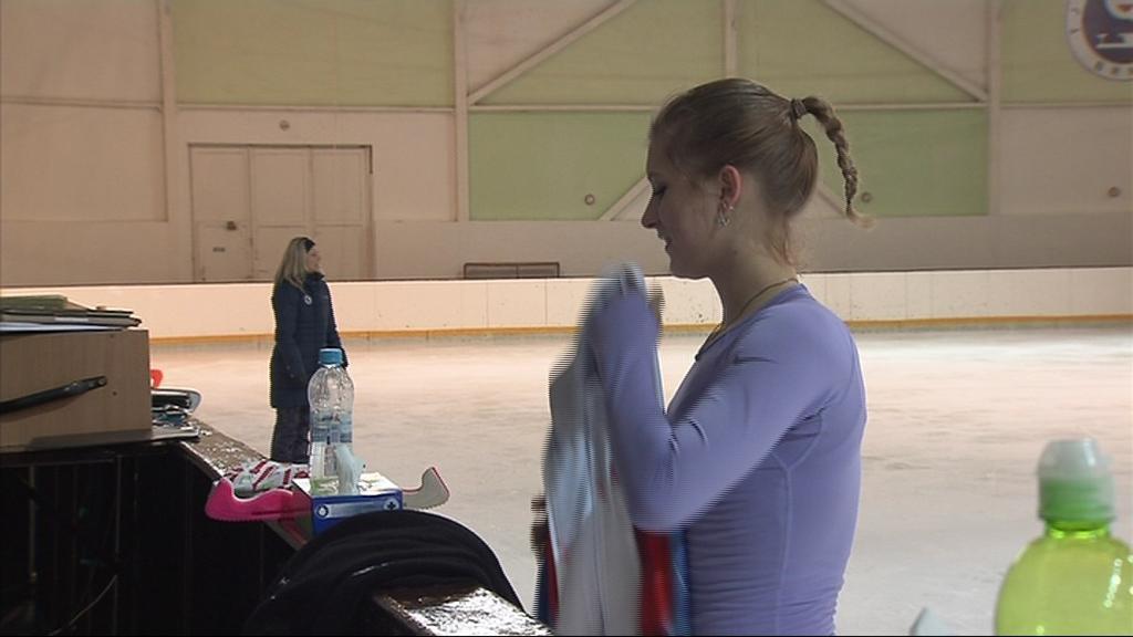 Eliška Březinová se na MS připravuje v Brně
