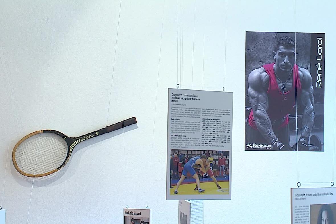Výstava Romové a sport