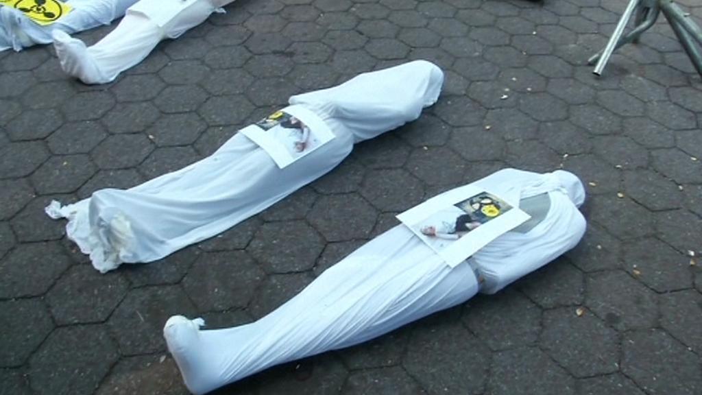Oběti chemického útoku v Sýrii