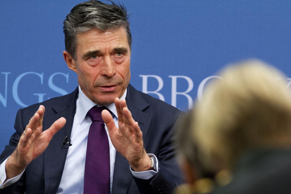 Anders Fogh Rasmussen v Brookings Institution
