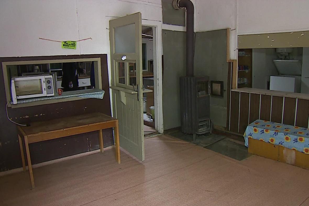 Zázemí letního tábora ve Veverské Bitýšce