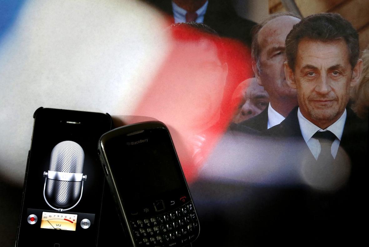 Kauza s odposlechy Sarkozyho hovorů