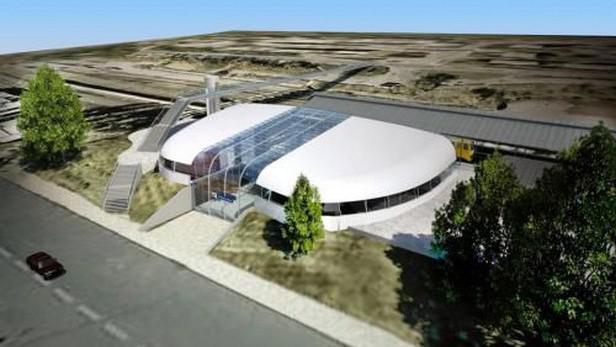 Vizualizace nového Horního nádraží