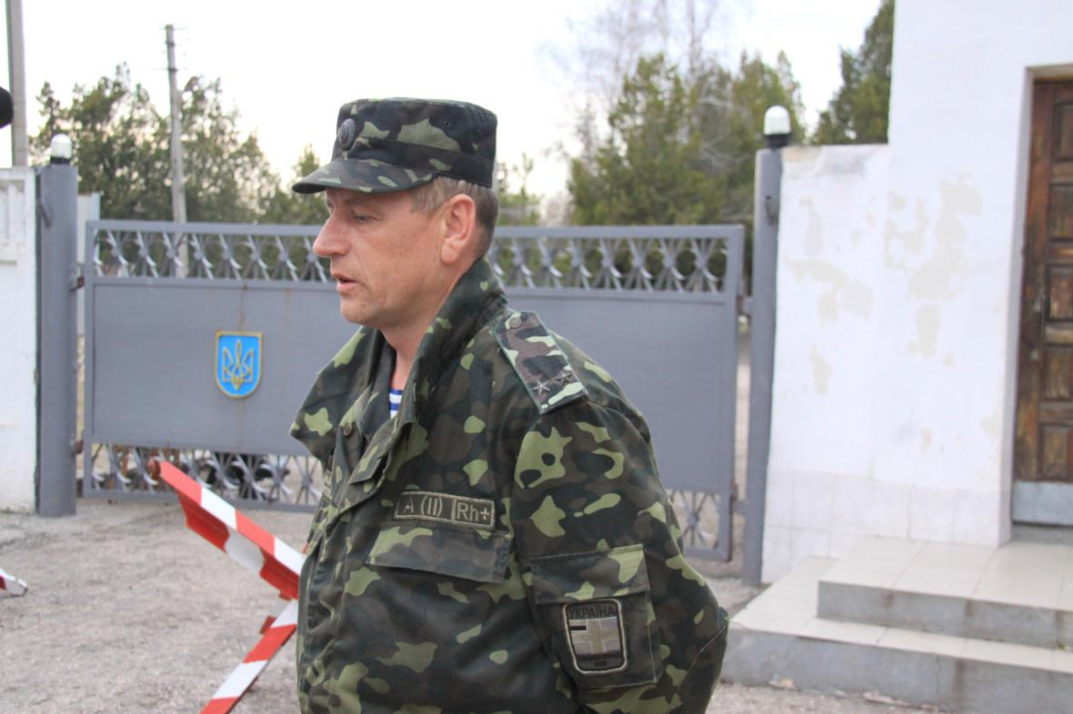 Příslušník ukrajinské armády