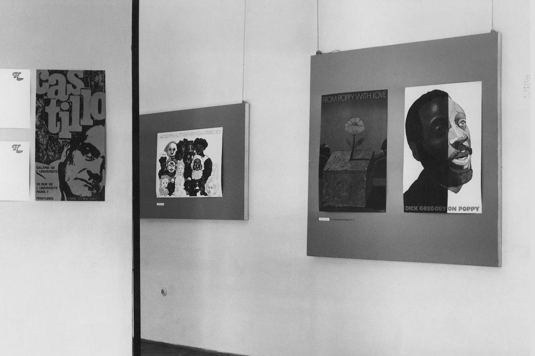 Starší ročníky grafického bienále v Brně