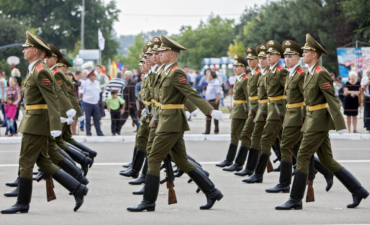 Vojenská přehlídka v Podněstří