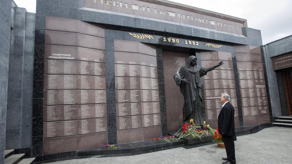 Centrum hlavního města Podněstří Tiraspolu