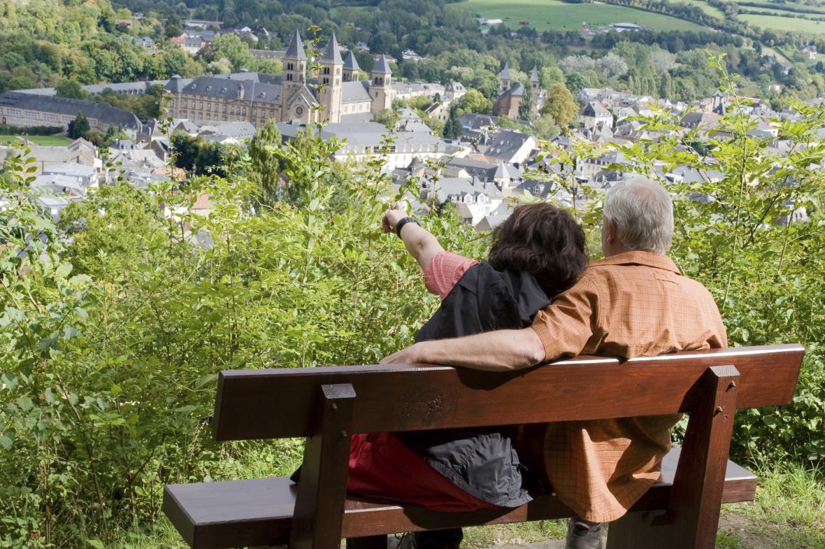 Výhled na Echternach