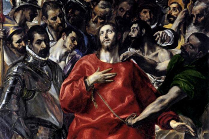 El Greco / Svlékání Krista