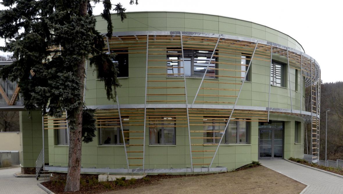 Nový pavilon Centra experimentální medicíny Z7, zvaný Elipsa