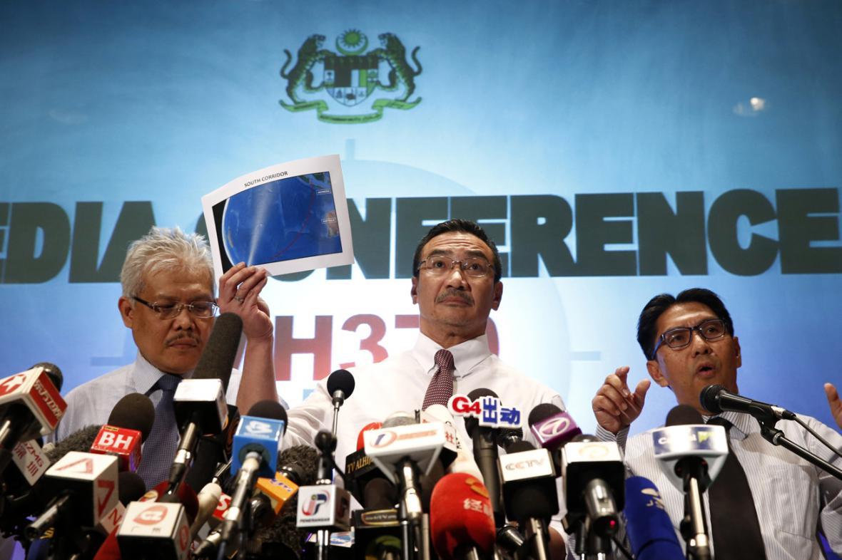 Brífink malajsijské vlády k pátrání po ztraceném letadle