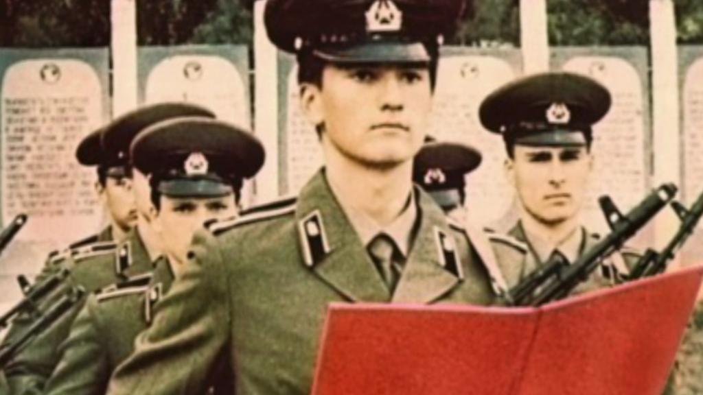 Aksjonov jako student vojenské školy