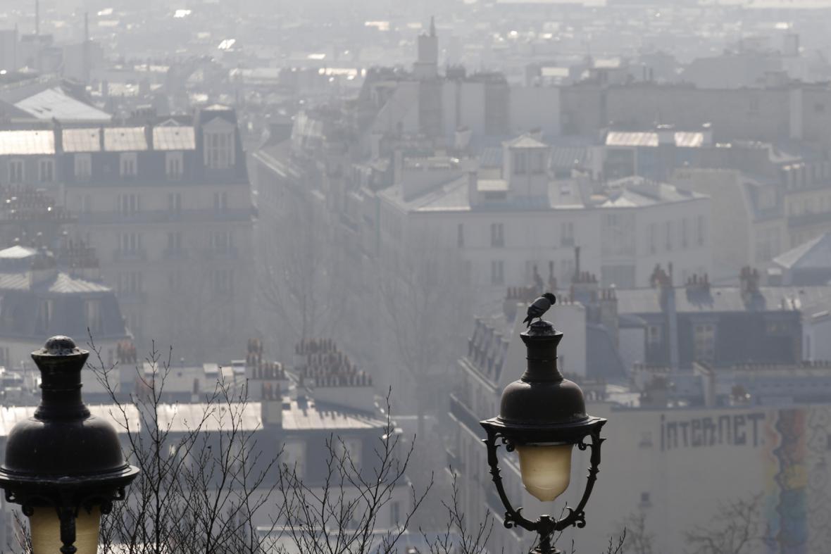 Smog v Pažíži