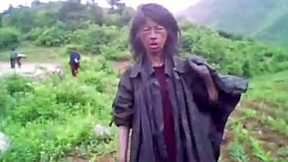 Záběr z dokumentu Secret State of North Korea