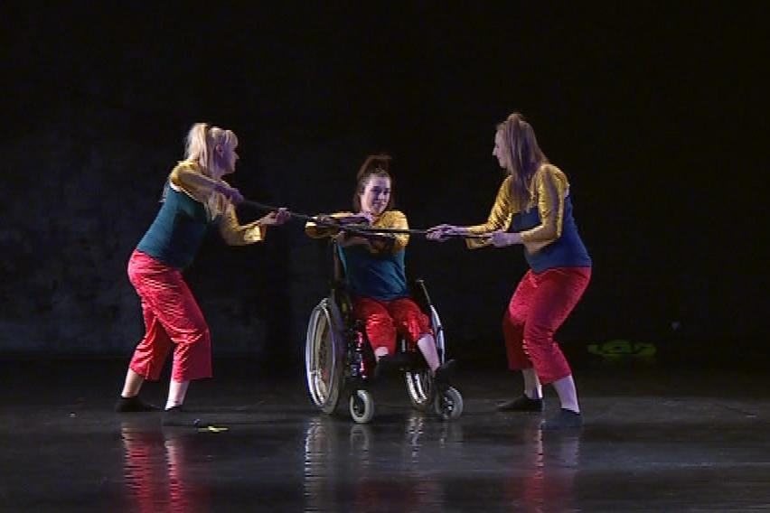 Tanec a handicap 2014