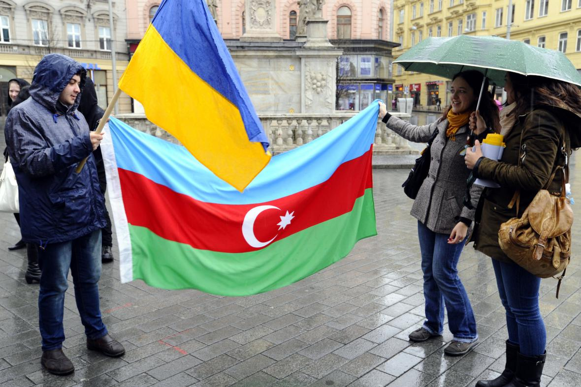 Proti invazi na Krymu se demonstrovalo také v Brně