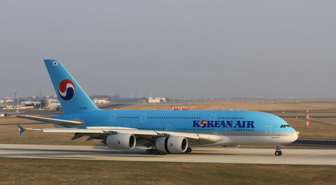 Airbus 380 Korean Air
