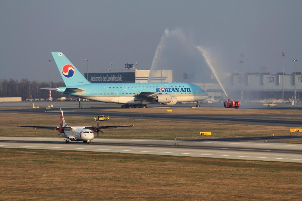A380 tradiční uvítání