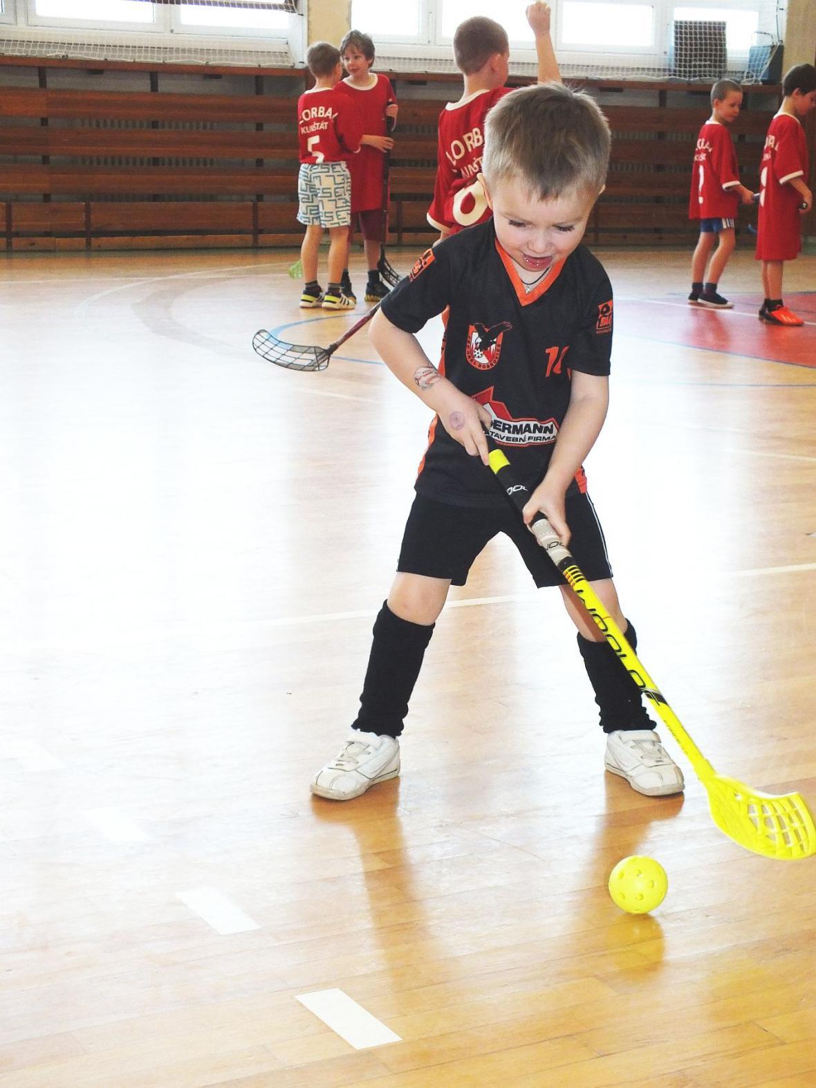 Turnaj žáků ve florbalu - Boskovice