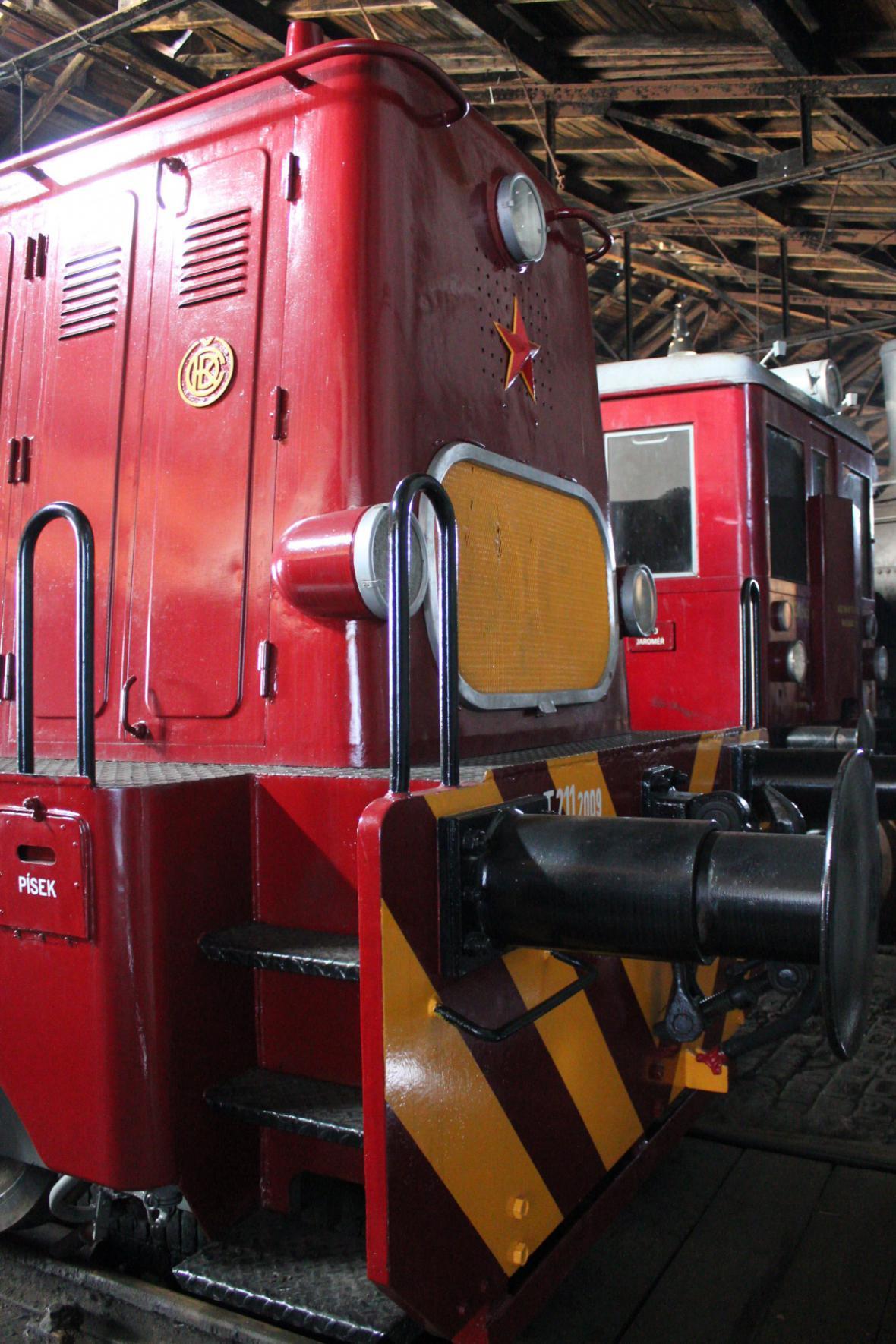 Železniční muzeum Jaroměř
