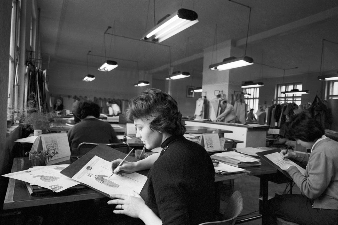 Návrhářky v OP Prostějov (rok 1960)
