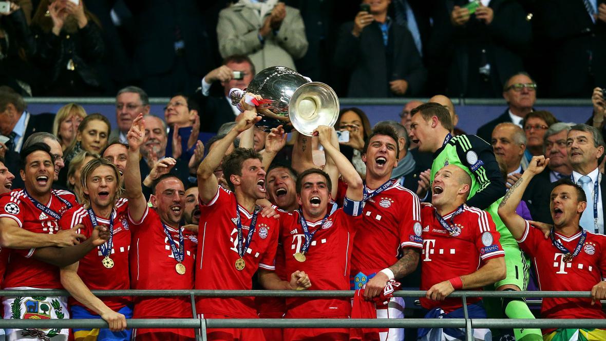 Triumfální oslavy Bayernu