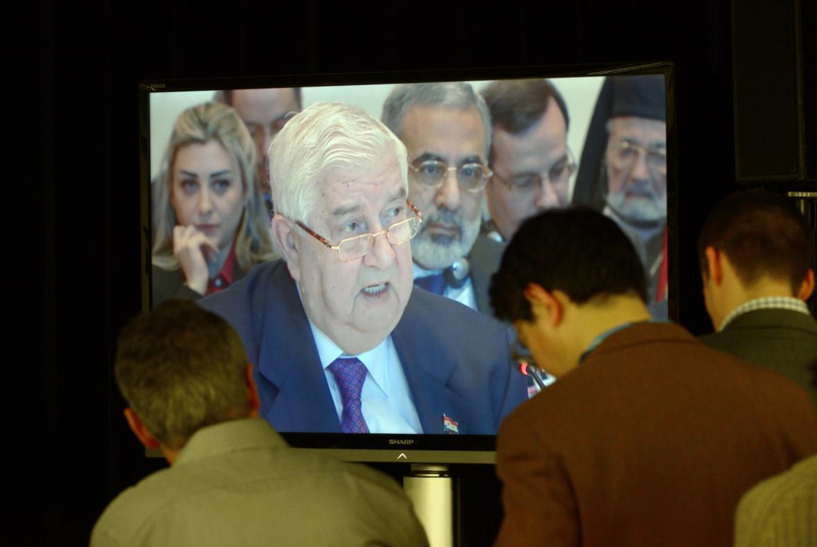 Ministr zahraničí Sýrie Valíd Mualim