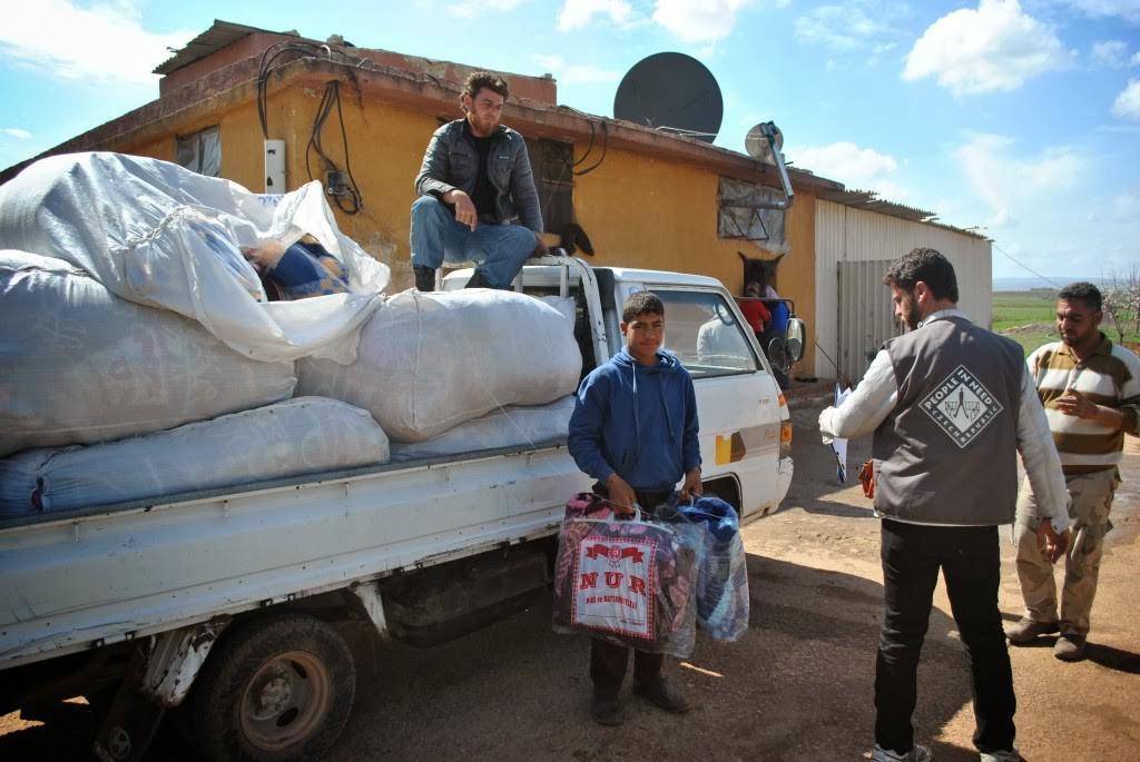 Člověk v tísni pomáhá Syřanům