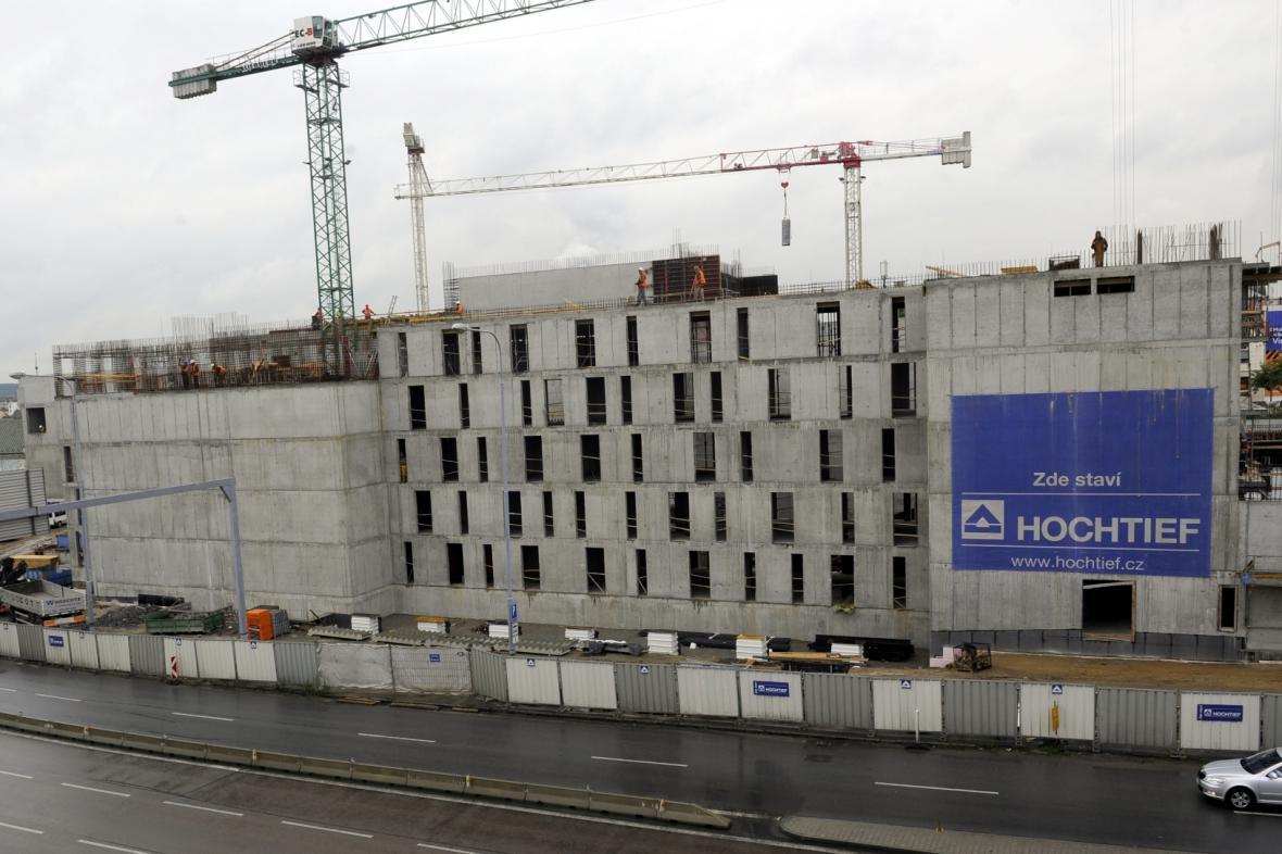 Stavba nového divadla v Plzni