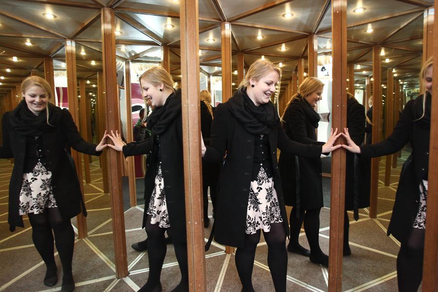 Zrcadlové bludiště Na Můstku
