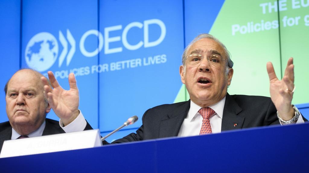 Šéf OECD Angel Gurría