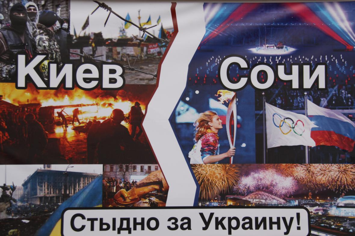 Protiukrajinská propaganda na Krymu