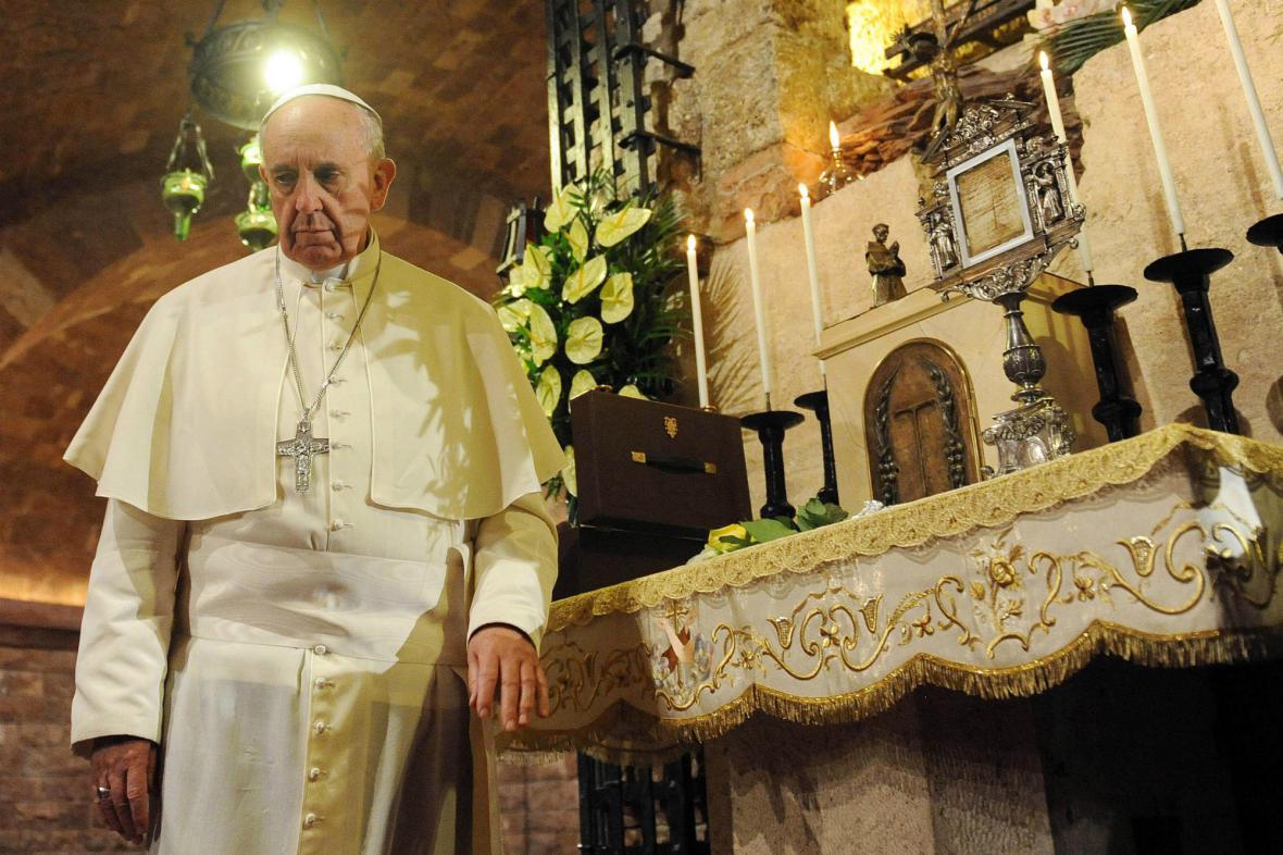 František v Assisi