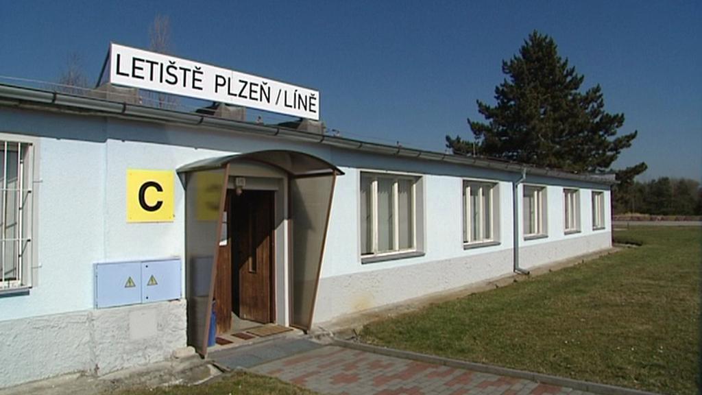 Líňské letiště nedaleko Plzně