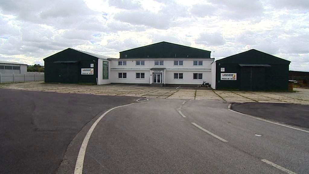 Logistické centrum u Českých Budějovic