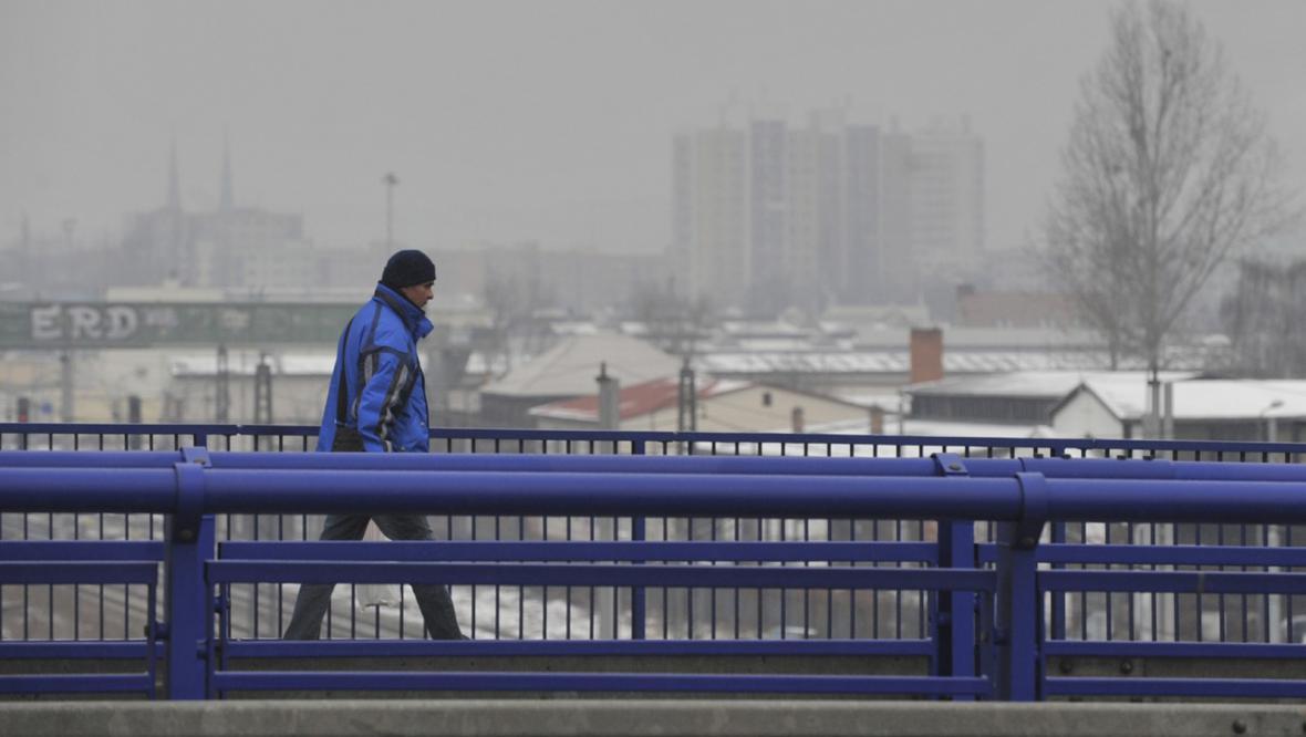Znečištěné ovzduší v Ostravě