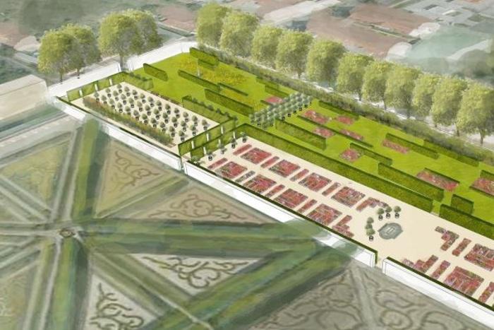 Vizualizace zahrady po rekonstrukci