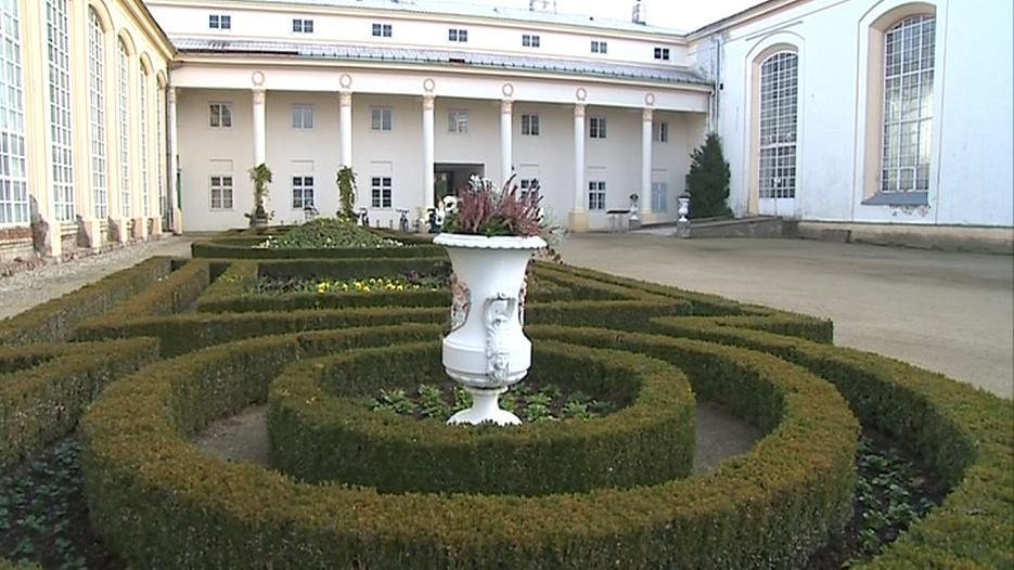 Květná zahrada je zapsaná na seznamu UNESCO
