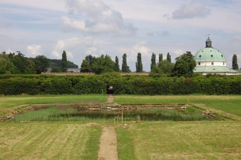 Pstruží rybník před obnovou