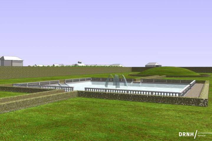 Takto by měl rybník vypadat po rekonstrukci