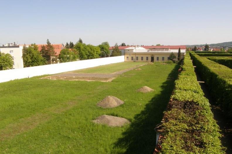 Holandská zahrada v roce 2012