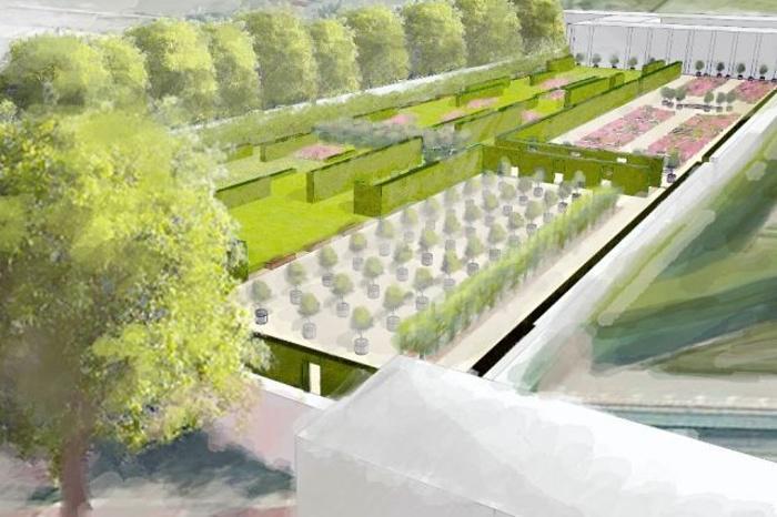 Vizualizace nové podoby Holandské zahrady