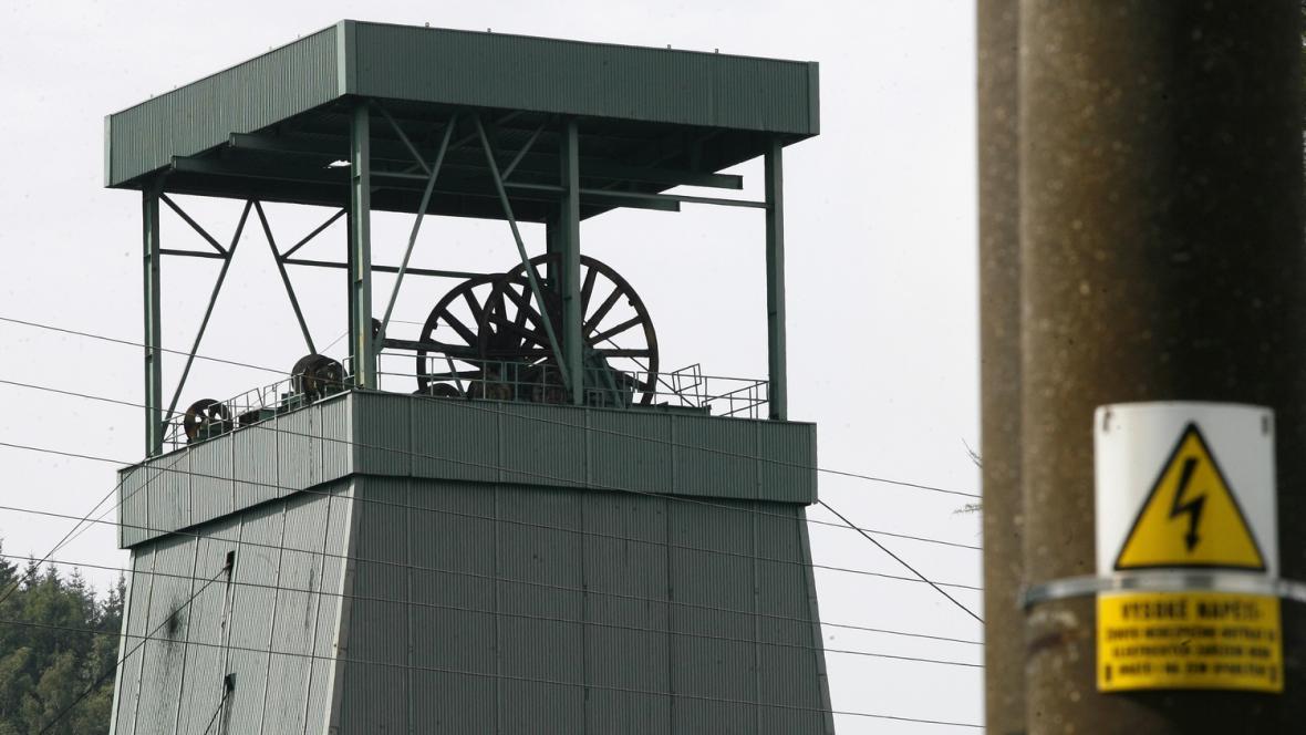 Uhelný důl ve Frenštátě pod Radhoštěm