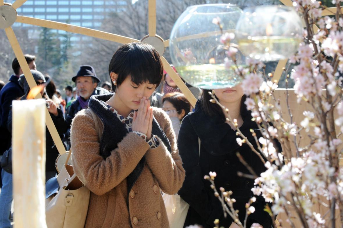 Minuta ticha v Tokiu